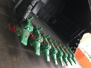 Cast Lip with V91 Tooth, Pin and Adapter for Electric Rope Shovel