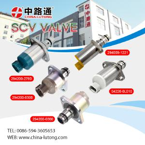 fuel pump scv suction control valve & suction control valve toyota