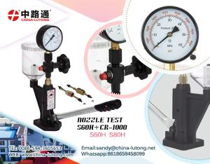 diesel engine injector nozzle pressure tester & Fuel Nozzle Pop Pressure Tester