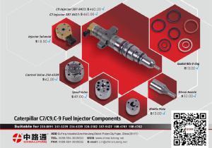 cat c18 common rail parts CAT c15 fuel plunger