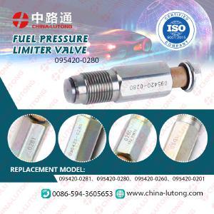 Anchor Plate CR diesel fuel injector pump pressure relief valve