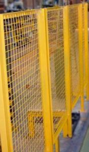 Внутрицеховые ограждения из сварной сетки 2d c покрытием OXSILAN