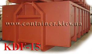 Multilift/Hook/Skip/Lifdupmer/Garbage steel Container KDF-15