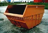 Multilift/Hook/Skip/Lifdupmer/Garbage steel Container KDF-15 KKN-10