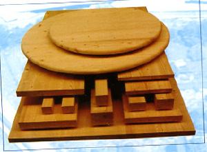 щитовые изделия из натурального дерева (сосна, ель) - Столешница (массив сосны)