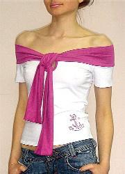 «Sanger» стильный трикотаж для мужчин и женщин! - футболка женская Ассоль