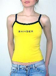 «Sanger» стильный трикотаж для мужчин и женщин! - майка женская Юджина