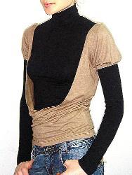 «Sanger» стильный трикотаж для мужчин и женщин! - футболка женская Бомонд
