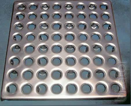 Плитка металлическая напольная - Плитка пола металлическая