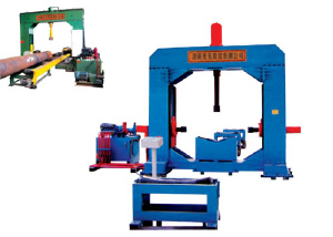 Hydraulic steelpipe linking & strengtening machine Model HK150 - CNC Steelpipe L