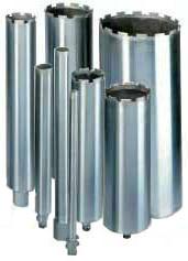 Алмазные кольцевые сверла (коронки) d.162 - 257 мм - Алмазные кольцевые сверла d