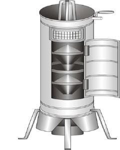 Лабораторное оборудование - Делитель-смешиватель зерна БИС-1