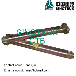 HOWO trucks and spare parts - BRAKE CAMSHAFT
