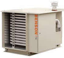 Стационарные воздухонагреватели BENSON для наружного размещения - Газовый теплог