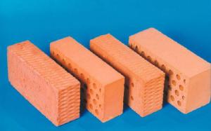 Кирпич керамический красный полнотелый одинарный М-125