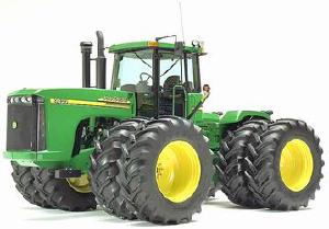 Сельскохозяйственная техника - Трактор John Deere 9320