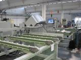 Оборудование для производства ПВХ окон Б/У и новое - распиловочный центр Haffner