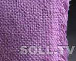 Декоративная цветная ткань из джута (цветная мешковина). Цвета: желтый, оранжевы