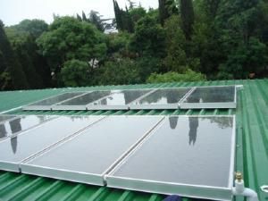 Система солнечного нагрева воды - солнечные коллекторы SintSolar CS-V3R