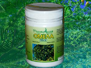 лечебные травы - Омела белая 100 г.