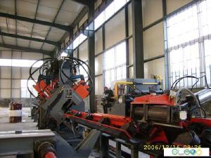 CNC Angle Punching Cutting and Marking Machine - JX1412