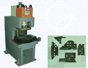 Hydraulic Notching/Marking Machine For Steel Angle - Hydraulic Notching Machine