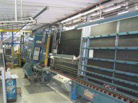 Стеклопакетные линии LISEC - Стеклопакетная линия Lisec 1600 Х 2500 с газ прессо