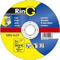 Отрезные абразивные диски для металла  Ринг 125 - Отрезной диск  т.м. Ring 125 x