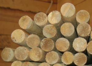 Нагеля березовые 24-25мм, длина 1,2метра - Нагеля березовые диаметр 24-25мм