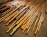 Нихром, медь, бронза - Пруток бронзовый БрАЖН 10-4-4,  БрАЖ 9-4, БрАЖМц 10-3-1,5