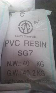 ПВХ смола суспензионная - ПВХ смола марка SG-7