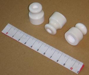 Изоляторы керамические для наружной проводки