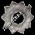 Шарошка-звездочка шлифовальная D7xd3 для чистки труб