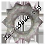 Шарошка-звездочка шлифовальная D9xd5 для чистки труб