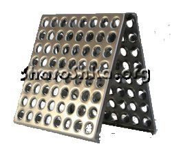 Металлическая плитка для промышленных полов