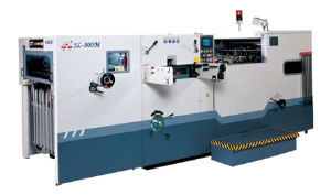 Оборудование для высечки и тиснения - SL-800M автоматический пресс для высечки