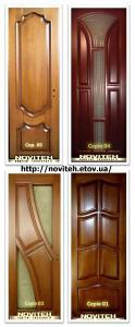 Двері дерев'яні з масиву , міжкімнатні, вхідні. - Двері з масиву  натурального д
