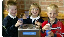 Школьники будут пить качественную питьевую воду