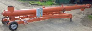 Оборудование для разгрузки вагонов-хопперов - Питатель наклонный передвижной для