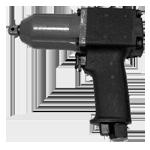 Гайковерт ручной пневматический ударный реверсивный прямой - ИП 3126