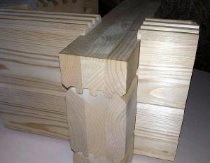 Клееный брус - Стеновые комплекты домов из клееного бруса