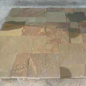 Плита каменная - Брусчатка из природного камня песчаник