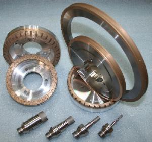 Алмазный инструмент для стекла - Алмазные круги и свёрла для стекла.