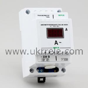Измерителные приборы - Амперметр цифровой в корпусе для крепления на DIN-рейку (