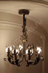 Художественная ковка металла - Кованые светильники