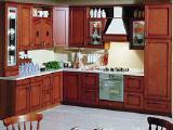 Кухонная мебель из дерева - Кухня из дерева № 32