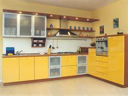 Кухонная мебель из МДФ - Кухня МДФ № 1