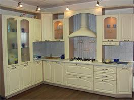 Кухонная мебель из МДФ - Кухня МДФ № 5