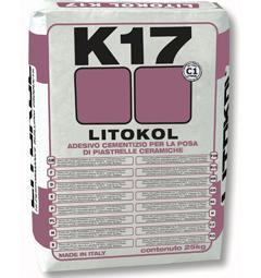клей для керамической плитки/мозаики ЛИТОКОЛ - Цементный клей для керамической п
