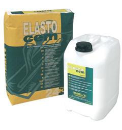 Гидроизоляция ЛИТОКОЛ - Цементная двухкомпонентная гидроизоляция Elastocem